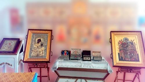 Святыни Xилондарского монастыря Святой Горы Афон